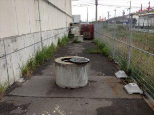 埋め戻し前の井戸