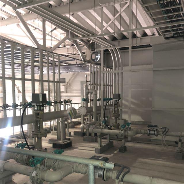 京都大学防災研究所 雨水流出実験装置